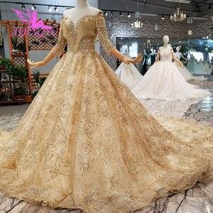 Image 4 - AIJINGYU נפלא יוקרה שמלת שמלות זול תלבושות בציר אוסף חתונה שמלות בחתונות