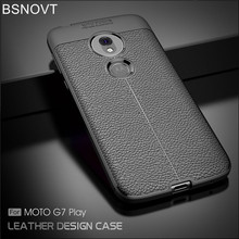 sFor Motorola Moto G7 Play Case Cover Soft Silicone TPU Leather Shockproof Phone For Funda 5.7}