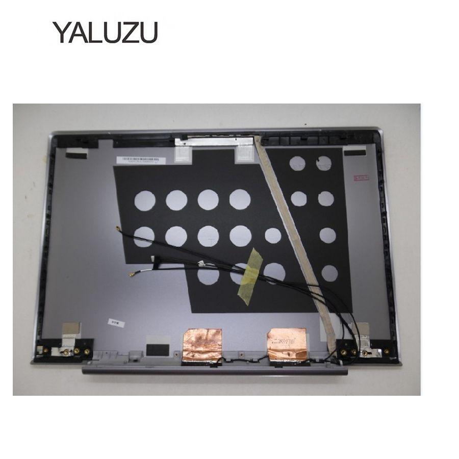 YALUZU nouveau pour Ordinateur Portable LCD Capot Supérieur Pour Lenovo U330 Tactile Modèle U330T 90203272 3CLZ5LCLV30 90203271 3CLZ5LCLV90 Gris Couverture Arrière
