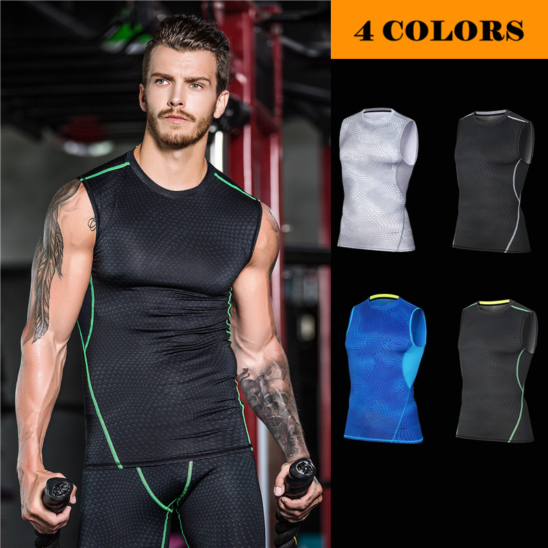 MASCUBE Quickly Dry Elastic Tights Tank Top Gym Fitness Bodybuilding Sleeveless T Shirts Sport Running Vest Yoga Shirt MenMASCUBE Quickly Dry Elastic Tights Tank Top Gym Fitness Bodybuilding Sleeveless T Shirts Sport Running Vest Yoga Shirt Men