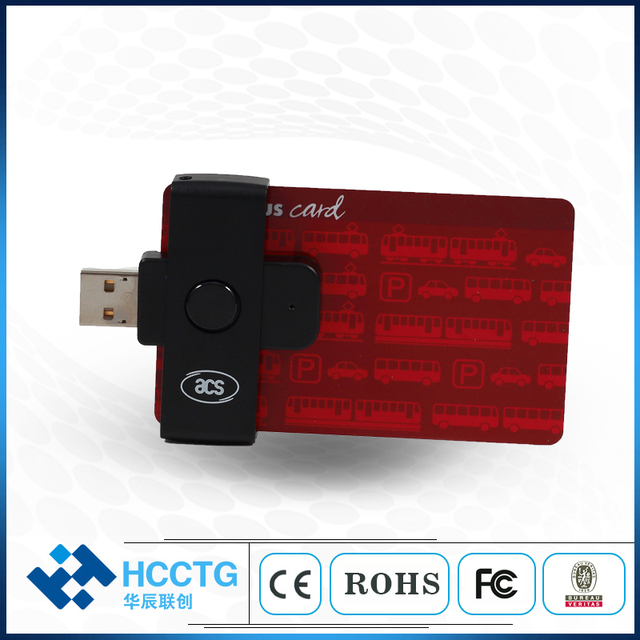 US $19 0 |USB 2 0 Pocket Contact IC Chip Card Reader/Writer ACR38U N1-in  Card Readers from Computer & Office on Aliexpress com | Alibaba Group