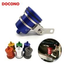 CNC алюминиевый бак сцепления мотоцикла цилиндр главный масляный тормозной механизм бачок жидкости для yamaha YZF R125 R15 R25 r 125 15 25 mt-07