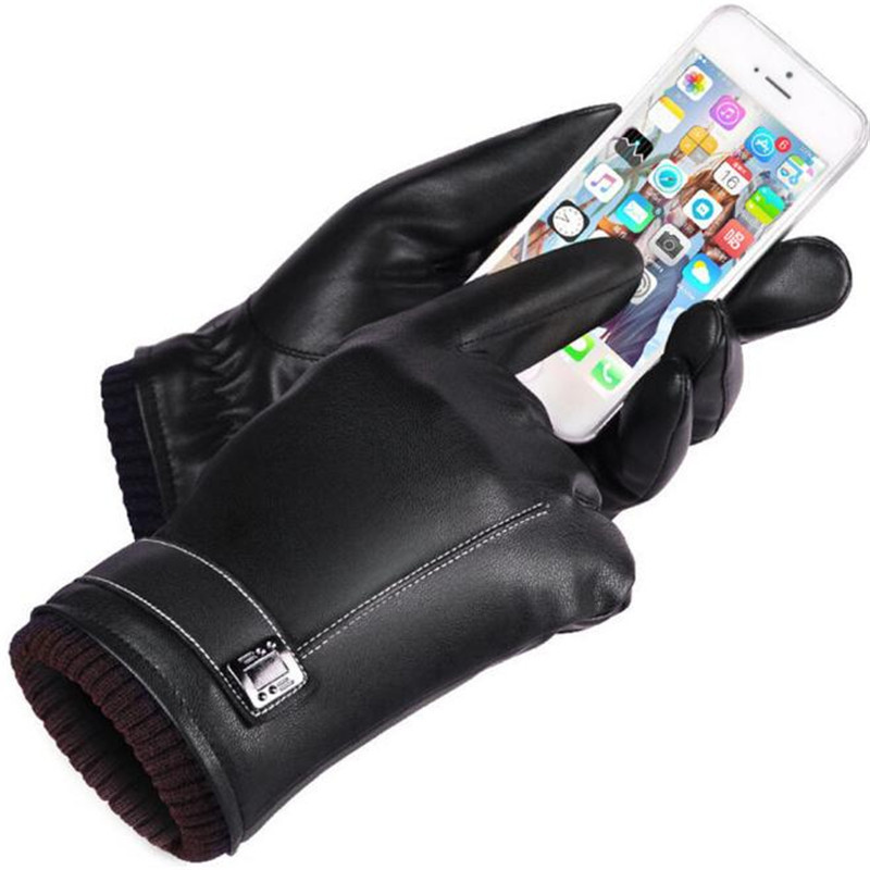 Enthusiastic Winter Pu Leather Gloves Womens Thermal Winter Motorcycle Ski Snow Snowboard Gloves Handschoenen Mittens Guantes Mujer Professional Design