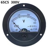 62T2/65C5 300 ボルト Class2.5 アナログ電圧計電圧計の測定ゲージ