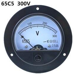 62T2/65C5 300 V Class2.5 analogowy woltomierz miernik napięcia miernik do pomiaru
