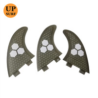 Surfboard fins FCS G5 FIN Fibreglass Honeycomb fins with logo