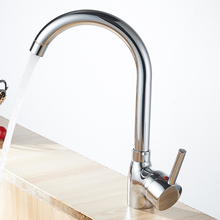360 Swivel Küchenarmatur Mischbatterie Einhand Küchenarmatur Wasserhahn Torneira De Cozinha Grifo Cocina