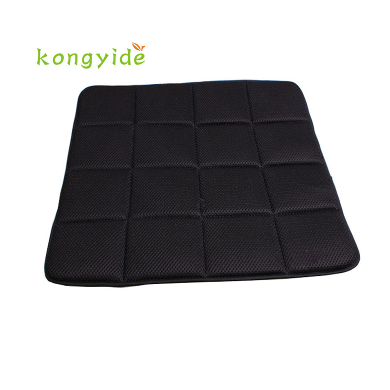 2017 Bamboo Charcoal Breathable Seat Cushion Cover Pad Mat For Car Office Chair Cojin del asiento cool comfortable handy OCT18