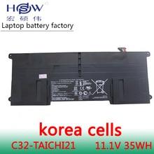 New Original 11.1V 3200mAh 35Wh C32-TAICHI21 Battery for Asus Ultrabook Taichi 21