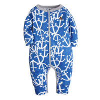 2016 Baby Girl Clothes Long Sleeve Romper Newborn Overalls Baby Boys Pajamas Cotton Bebes Cartoon Clothing