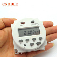 CN101A LCD Digital Power Programmable Timer 12V Time Relay Switch 16A