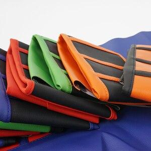 Image 2 - Nervürlü kauçuk tutucu yumuşak koltuk örtüsü YAMAHA HONDA SUZUKI için DUCATI KTM SX SXF XC XCF kir bisiklet Off Road yastık deri kılıf
