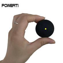Shipping-6pcs/лот сквош мяч желтая точка, сквош мяч, сквош ракетки мяч, Сквош ракетка, мяч