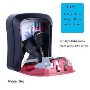 Image 3 - Pojemnik na klucze połączenie ukryj klucz blokada do przechowywania do montażu na ścianie bezpieczeństwa na zewnątrz przypadku
