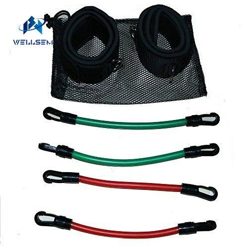Wellsem vitesse cinétique agilité entraînement jambe course résistance bandes tubes exercice pour les athlètes Football basketball joueurs - 2