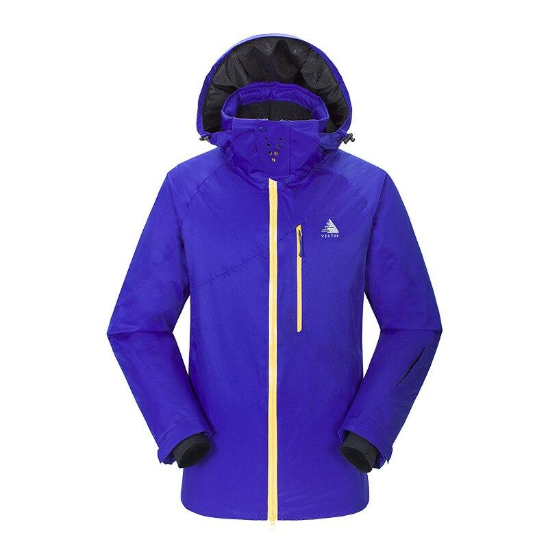 Combinaison de Ski pour hommes en plein air épaissie propre chaud résistant à l'usure imperméable à séchage rapide Sports escalade veste de Ski pour hommes