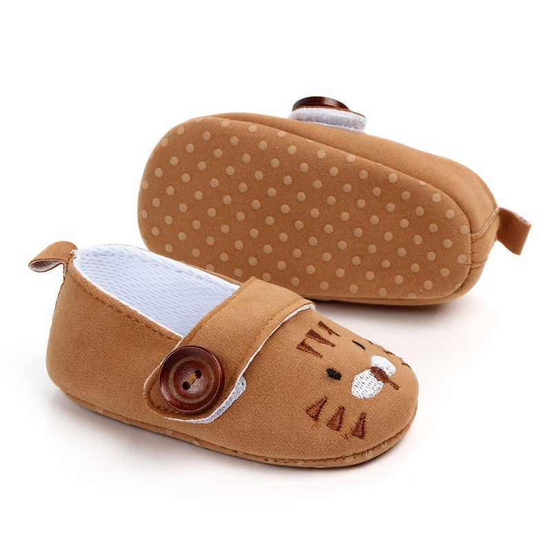 67ac89d152b8 ... New Cute Cartoon Animal Print Loafers Baby Boys Girls Shoes Newborn  Infant Toddler Footwear Soft Sole