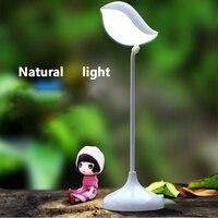 Novo LED Mesa de Luz Da Noite Incrível Design Pequeno Pássaro Inteligente Recarregável Nightlight Sensor de Toque Inteligente LEVOU Energia