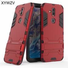 For Cover Nokia 7.1 Plus Case Armor Rubber Hard Back Phone Shell Fundas