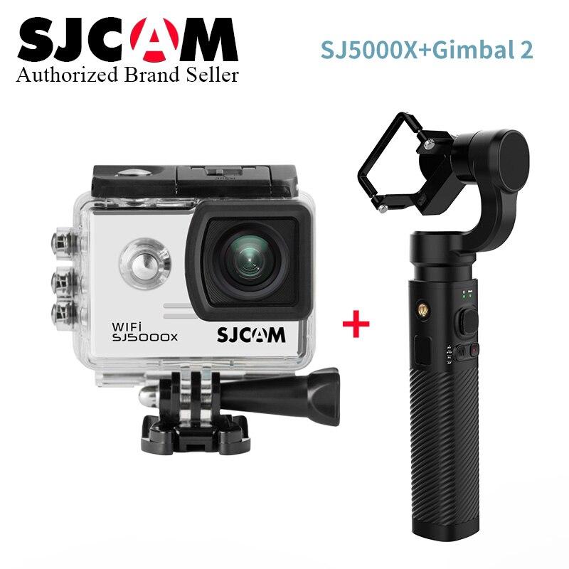 SJCAM SJ5000X Elite caméra d'action 4 K WiFi Sports DV plongée 30 M étanche 1080 P HD NTK96660 Gyro 2.0 écran Original SJ CAM 5000