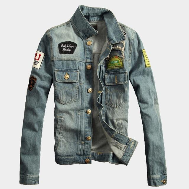 Denim Jacket Men 2017 Winter Jean Jacket Top Quality Denim Jackets