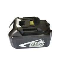 BL1840 Electric Drill Battery 18V 4000mAh For MAKITA 194205 3 194309 1 BL1845 BL1830 BL1445 BL1460 18V 4.0Ah Li ion Battery