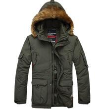 Neuen männer Langen Dicken Abnehmbaren Liner Warme Winter Schnee 90% Weiße Ente Daunenmantel Jacke Outwear für männer, 2 Farben, Größe M-5XL, FZE91