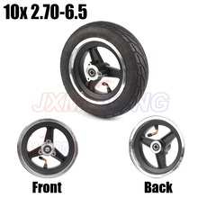 Size 10X2.70-6.5 Electric scooter vacuum tire 10 inch for Balance Scooter Tyre Driving Xiaomi Nine Balanced Car