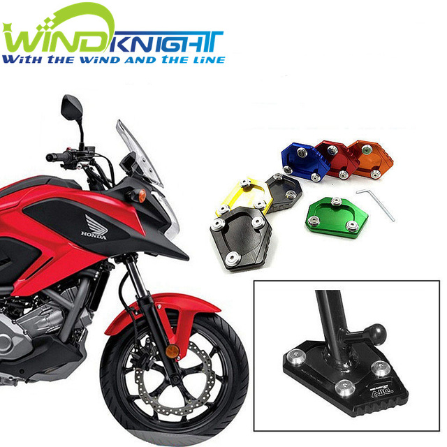 Motorcycle CNC Kickstand Side Stand Plate Pad Enlarge Extension For Honda NC700X NC700S NC700D Integra CBR  sc 1 st  AliExpress.com & Motorcycle CNC Kickstand Side Stand Plate Pad Enlarge Extension For ...