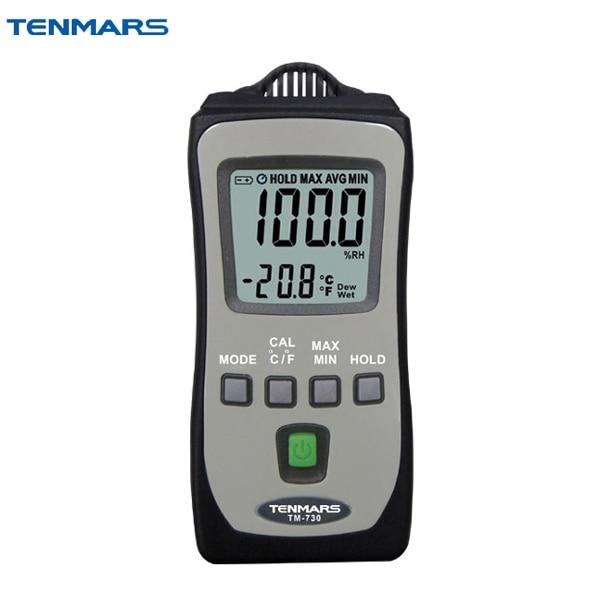 TENMARS TM-730 Pocket Size Thermometer Hygrometer Meter цены