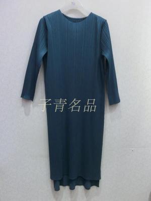 Robe marine Pleine kaki Manches Livraison Irrégulière Gratuite robe blue Couleur bourgogne Noir De Pur Pliage Trimestre Bleu Trois Stock Green Mode En PF4qwzFpB