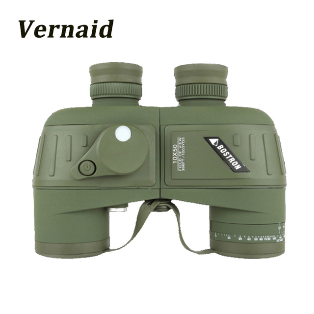 Powerful Russian Military Binoculars BAIGISH 10x50 Marine Telescope with Digital Compass Waterproof Lll Night Vision binocular цена
