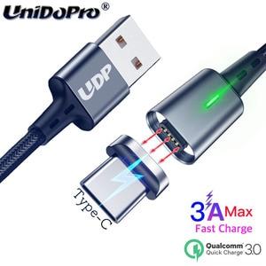 3A Магнитный кабель для передачи данных для Xiaomi Mi 10 9T 9 SE 8 Lite Redmi K20 K30 Pro Note 9 8 7s Mix 3 Pad 4 Max3 A3