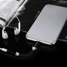 Earphone/Headphone Cable Adapter For Apple iPhone 7&7 Plus 6 6S For Lightig/ios interface to 3.5 mm Female Jack Aux Audio Cable