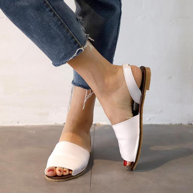 SAGACE Обувь, сандалии дамы рыбий рот Летние эспадрильи Коренастый праздник обувь плоские сандалии Повседневное сандалии летние 2018MA16