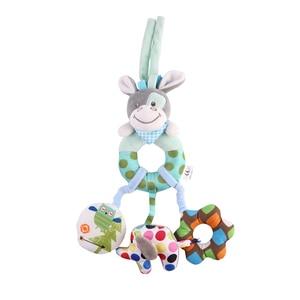 Image 3 - Bearoom 赤ちゃんガラガラモビール学習教育のおもちゃ幼児釣鐘ベビーベッドためのガラガラのおもちゃぬいぐるみベビーカー