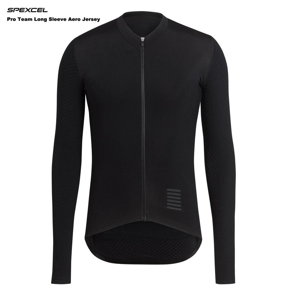 Цена за Spexcel летом 2017 pro команда с длинным рукавом aero джерси гонки велоспорт джерси велосипедов тонкий велоспорт одежда италия сетка рукав