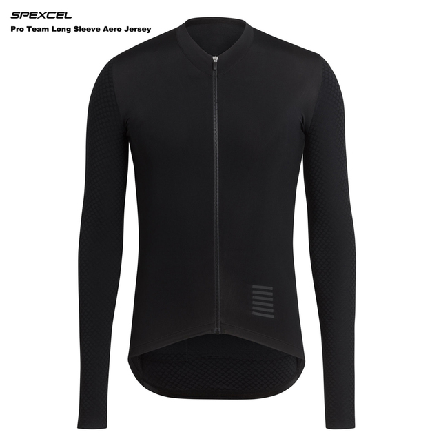 SPEXCEL 2017 Summer Pro Team Long Sleeve Aero Jersey race cycling jersey  bicycle slim cycling clothes Italy mesh fabric sleeve bc1b17d65