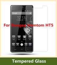 9H 0.26mm Homtom HT 5 Tempered Glass For Doogee Homtom HT5  Explosion-proof Screen Protector High Clear  Film Free Shipping