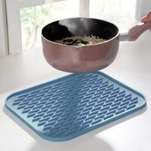 Silicone 22*16cm heat-insulated Pan Nonstick Silicone Baking Mats Pads Cooking Mat Oven Baking Tray Cushion Kitchen Tools