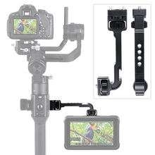 Ronin S Staffa di Estensione con 1/4 Fredda Shoe Mount per I Monitor Micrphones Video Luci Ruotato di Magic Arm per DJI ronin S