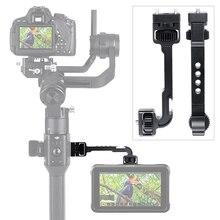 Ronin S Uitbreiding Beugel met 1/4 Cold Shoe Mount voor Monitoren Micrphones Video Lichten Gedraaid Magic Arm voor DJI ronin S
