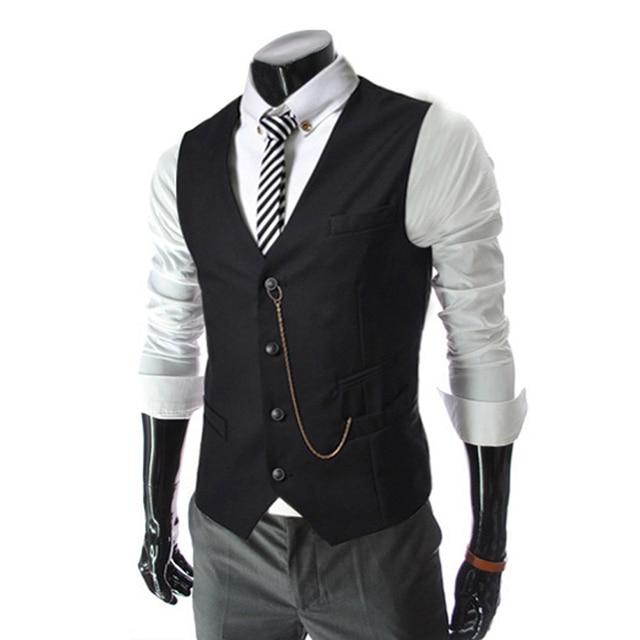 Aliexpress.com : Buy 2017 Spring Mens Casual Slim Fit Vest ...