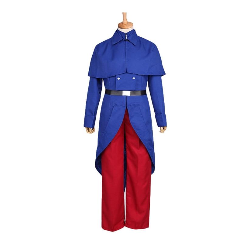 Аниме Hetalia Axis Powers французская униформа Косплей Костюм Хэллоуин