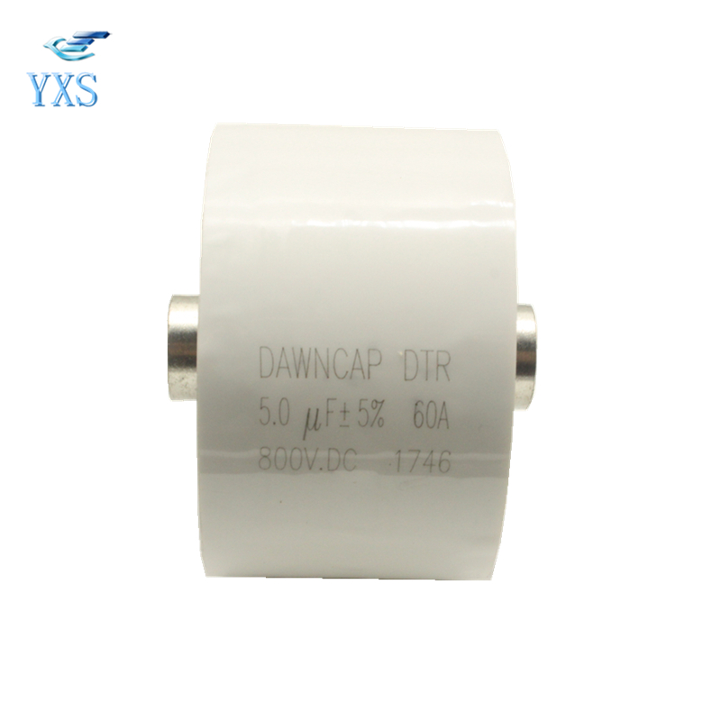 DTR 800VDC 5UF 60A 5% High Frequency Resonant Capacitor dtr series 2uf 1200vac 2500vdc high frequency high voltage ac resonant capacitor 80a
