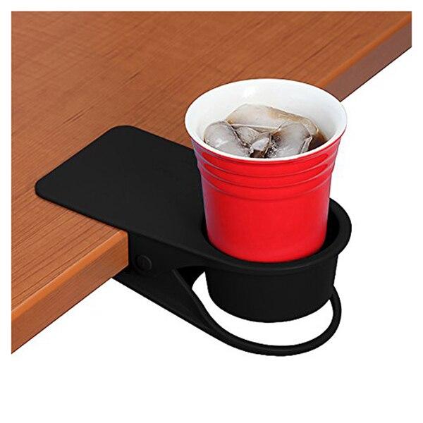 Drinking Cup Holder Clip Home Office Table Desk Side Huge Clip