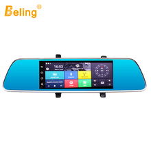 Beling V719P 3G Navigation Car DVR Rear View Mirror 7in Touch Screen GPS Android 5.0 Navigator HD Dash Cam 16GB Night Vision