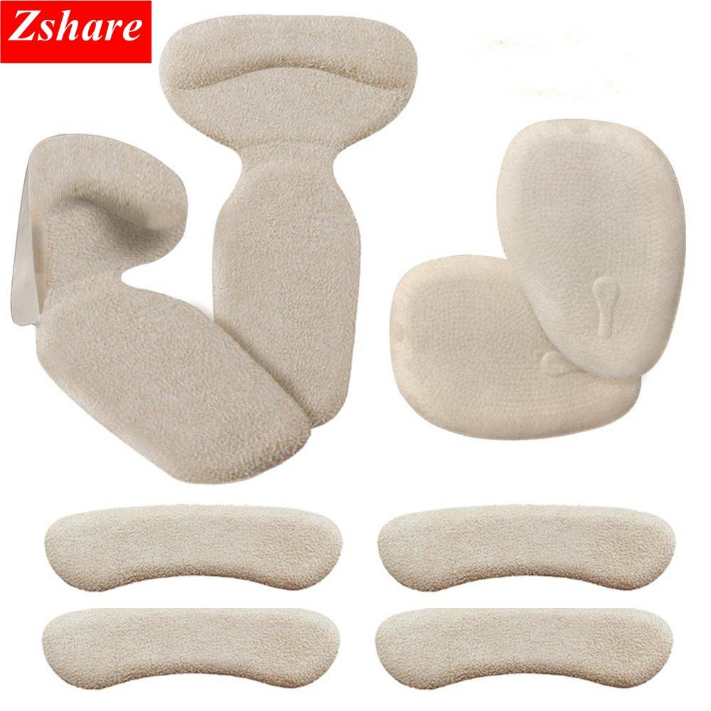 8 Pcs Silicone Pads High Heel Grips Heel Inserts Anti Slip Heels Insoles Back Liner Cushions For Shoes Boot