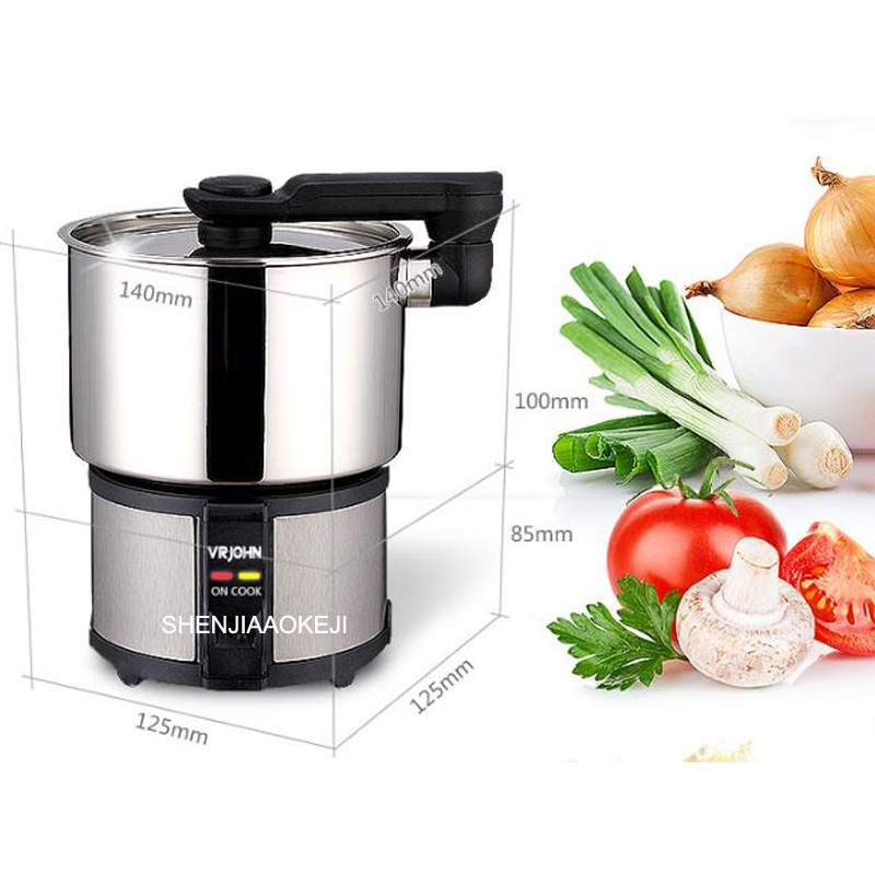 TC-350A home use electric cooker Smart 110v/220v stainless steel dormitory electric stew soup stewing cooking machine 110v 220v dual voltage travel cooker portable mini electric rice cooking machine hotel student multi stainless steel cookers