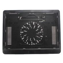 "S SKYEE охлаждающая подставка для ноутбука с большим вентилятором usb-стойка для любого ноутбука до 14"""